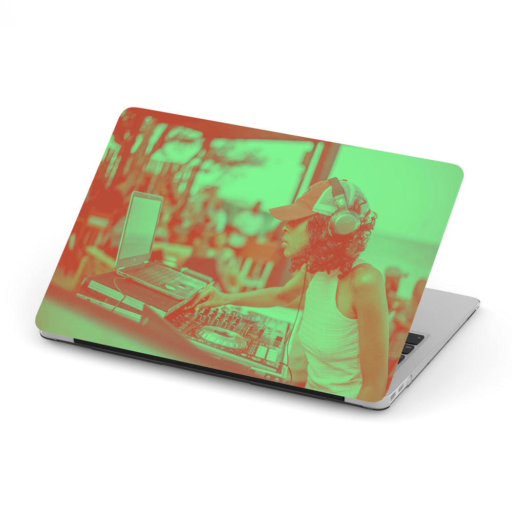 Custom Duotone Macbook Case with One Photo - Design Your Own