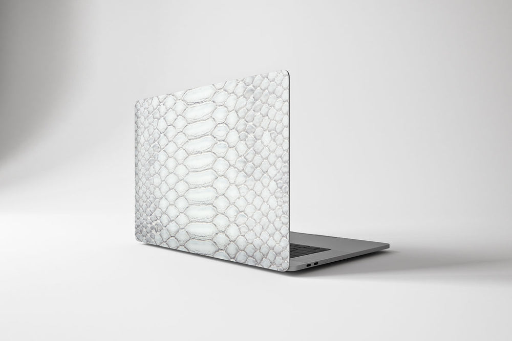Load image into Gallery viewer, Macbook Hard Shell Case - White Snake Skin