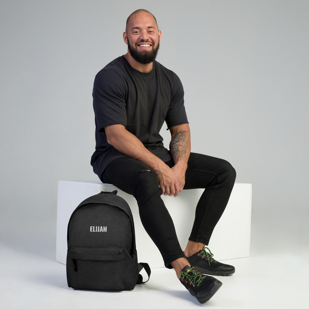 Load image into Gallery viewer, Personalized Embroidered Backpack