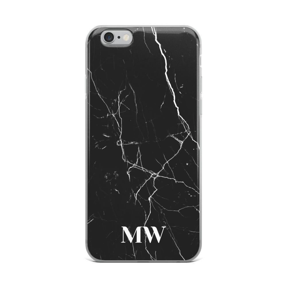 iPhone Case - Black Marble
