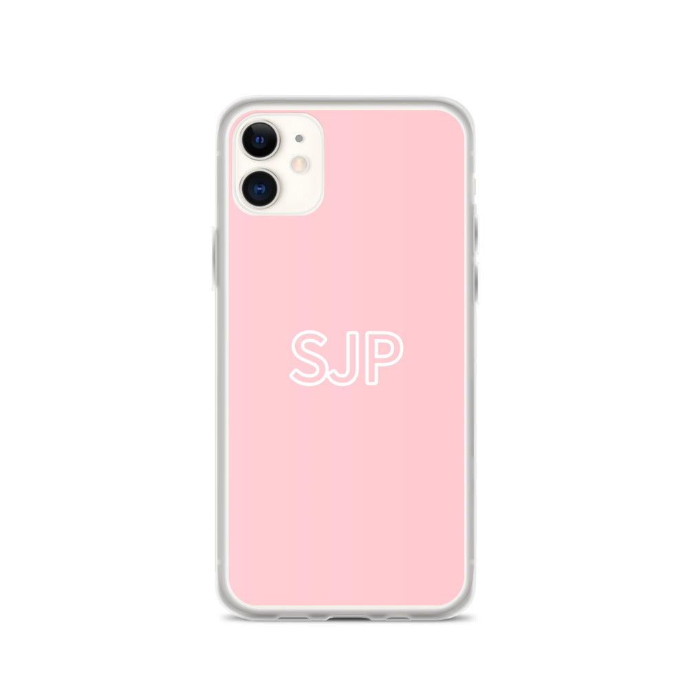 iPhone Case - Blush Pink & White