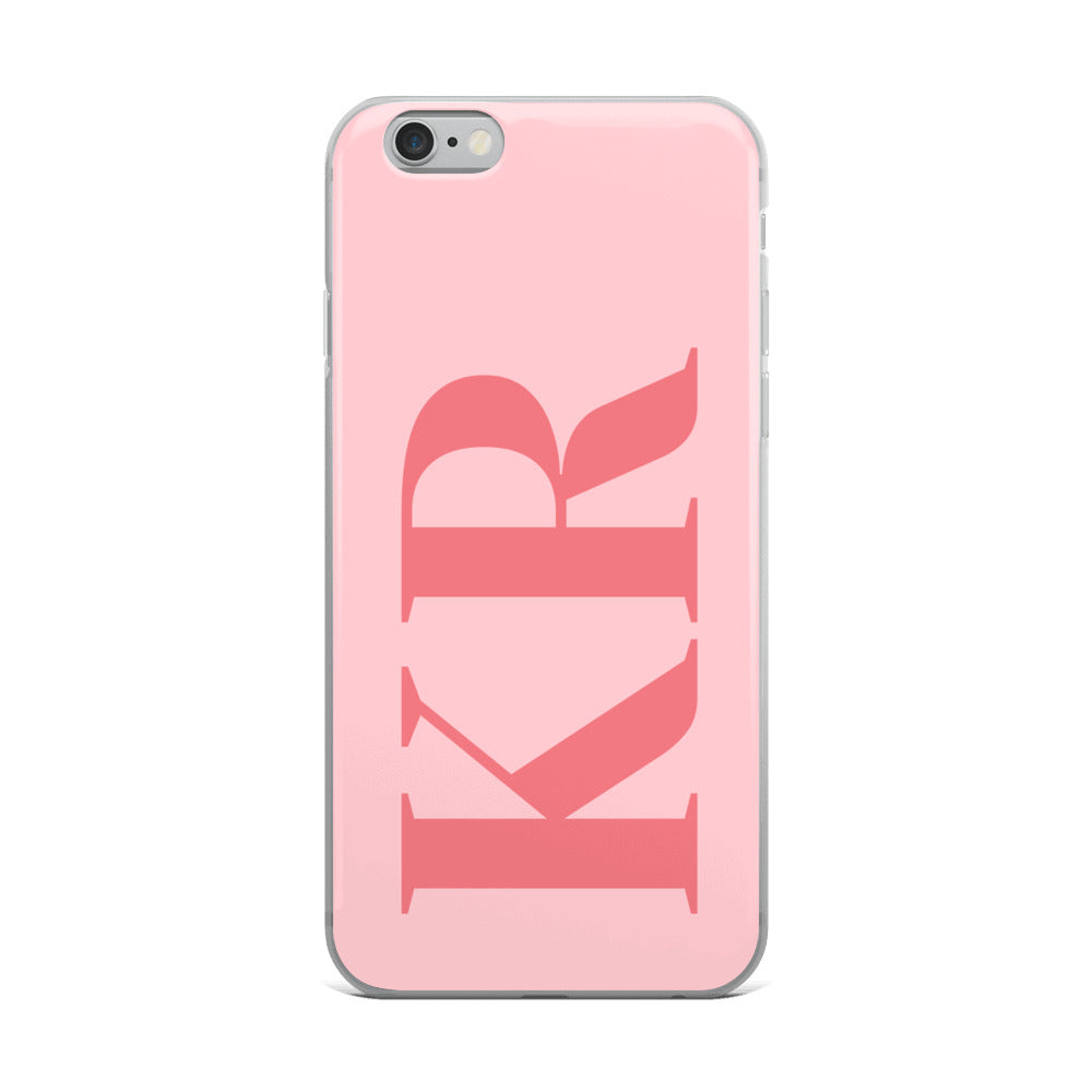 iPhone Case - Smart & Simple Pink