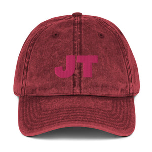 Personalized Vintage Cotton Twill Cap in 4 Colors