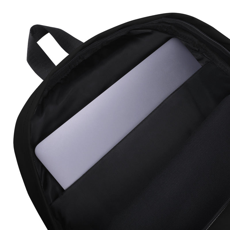 Personalized Backpack - Jet Black