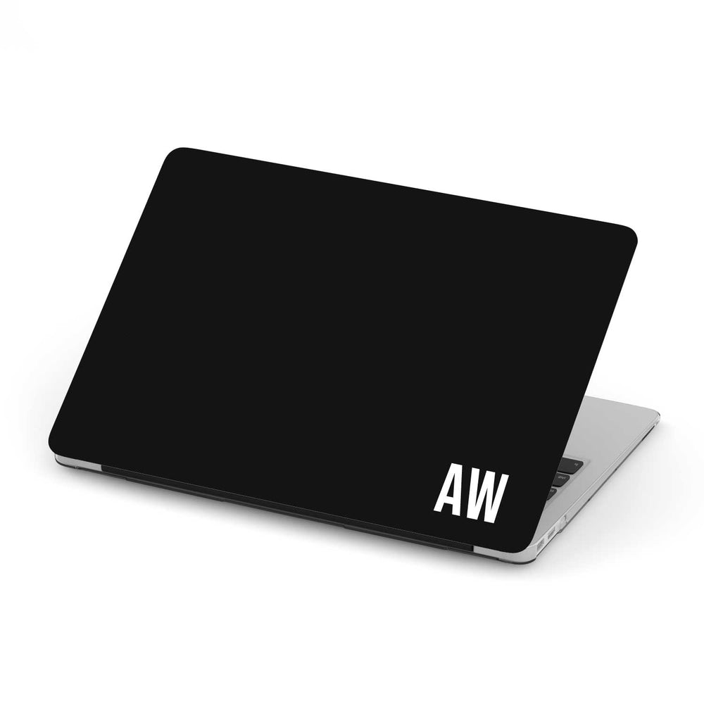 Personalized Macbook Hard Shell Case - Jet Black