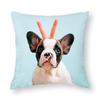 Custom Pet Photo Throw Pillows