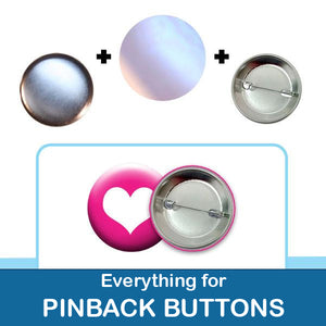 1-1/2 inch button parts and accessories