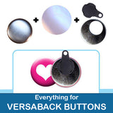 1.5 inch Button Parts Everything For Versaback Buttons