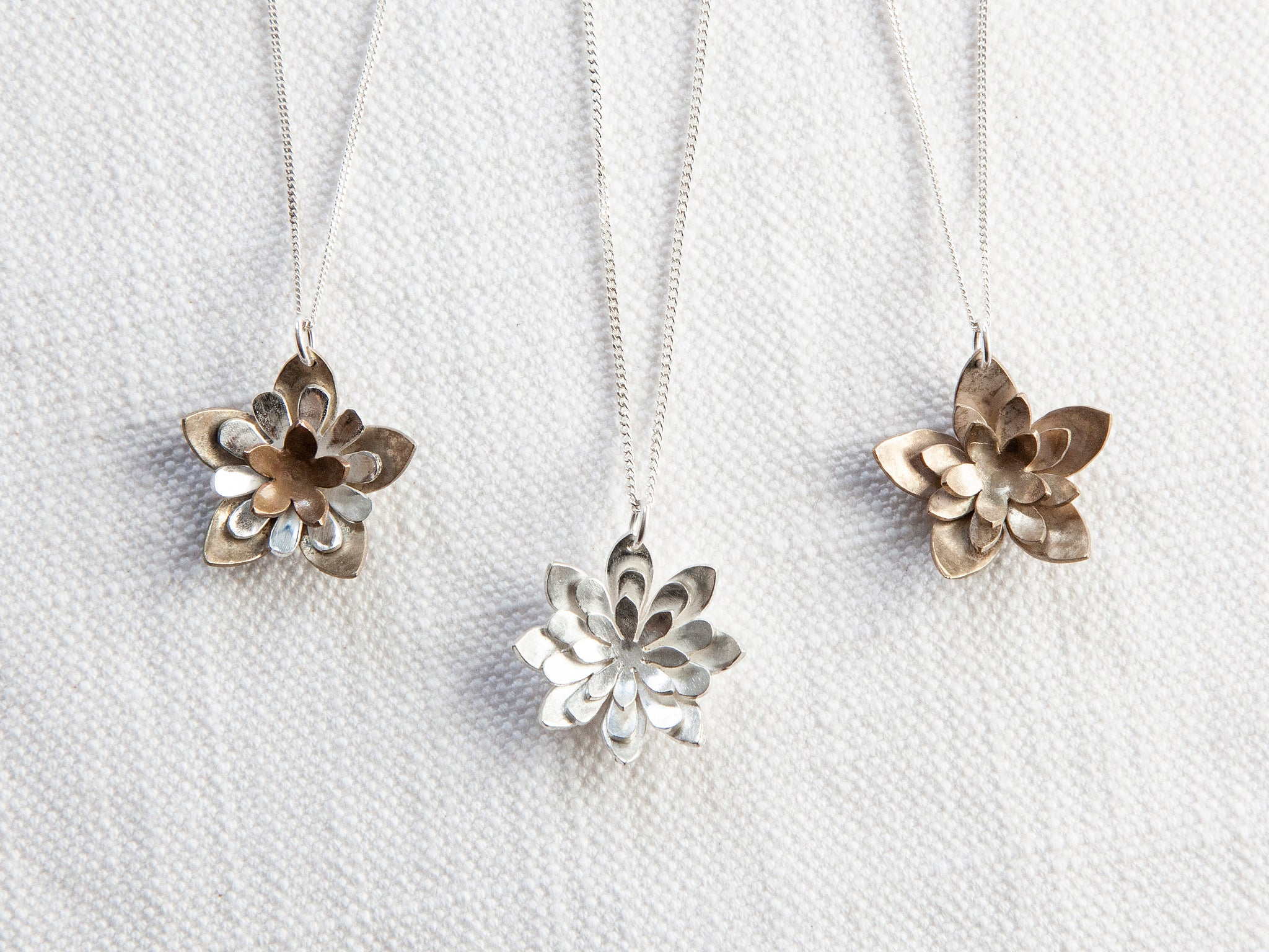 Flower Pendants