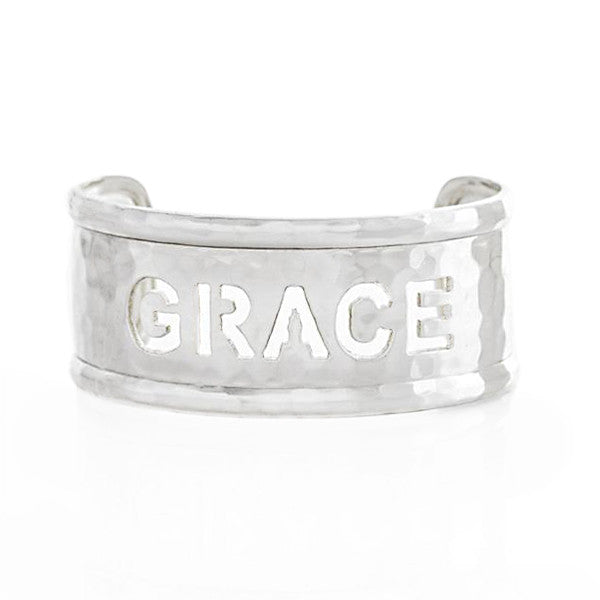 Rimmed Cut Out 1.0 Name Silver