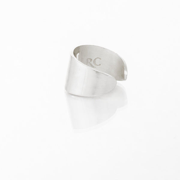 RC Anchor Cut Out Ring - Silver