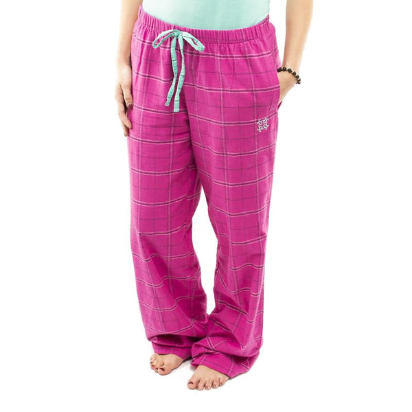 RC Clothing Flannel PJ Pant - Hot Pink Plaid