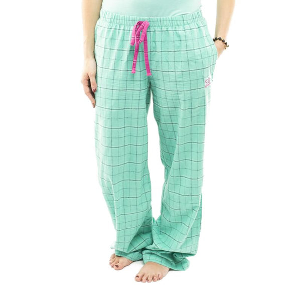 RC Clothing Flannel PJ Pant - Teal Plaid