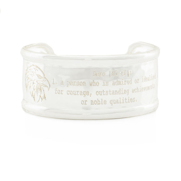"Definition 1.0"" Rimmed Cuff - Hero"