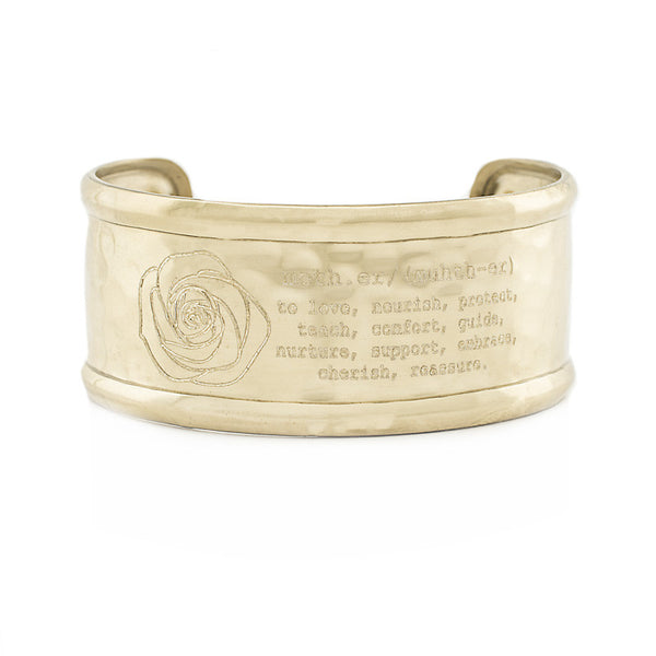 "Definition 1.0"" Rimmed Cuff - Mother"