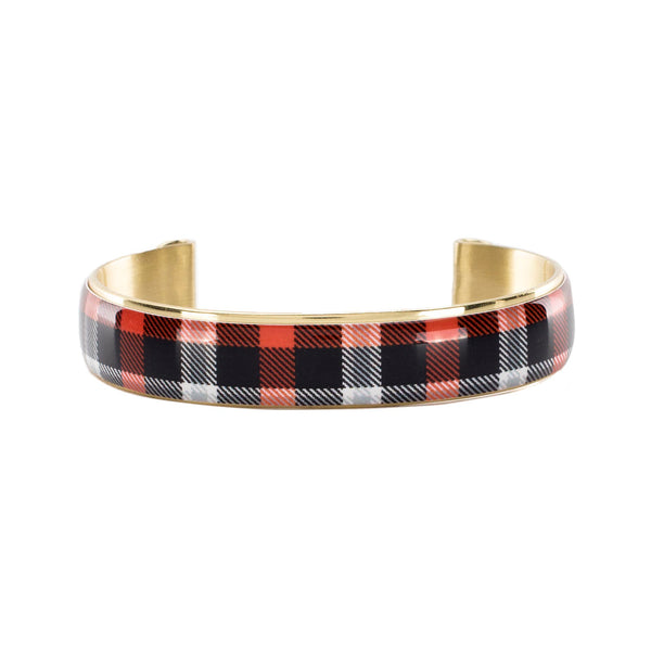 Art Deco .5 OSU Tartan Plaid