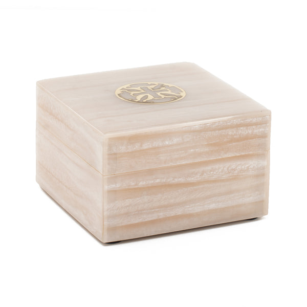 Cherish and Celia Duo with Decorative Wood Box - Gold