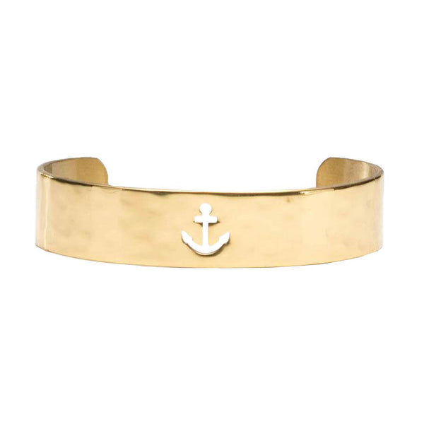 Cut Out .5 Anchor Gold