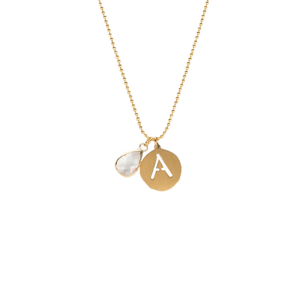Adele- April Necklace - Gold