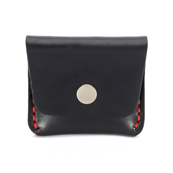 Sedona - Leather Coin Purse - Black