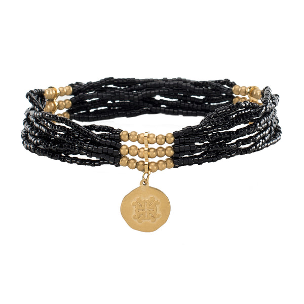 Adeline Black with Gold