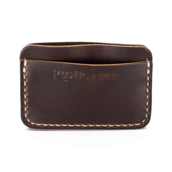 Sedona - Leather Card Holder - Brown