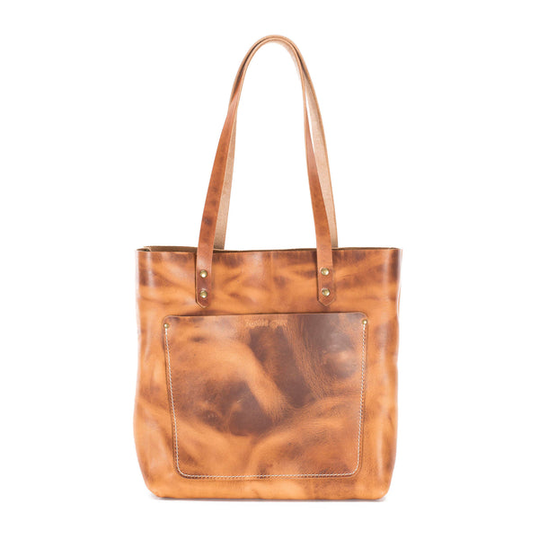 Sedona - Leather Tote - Chestnut
