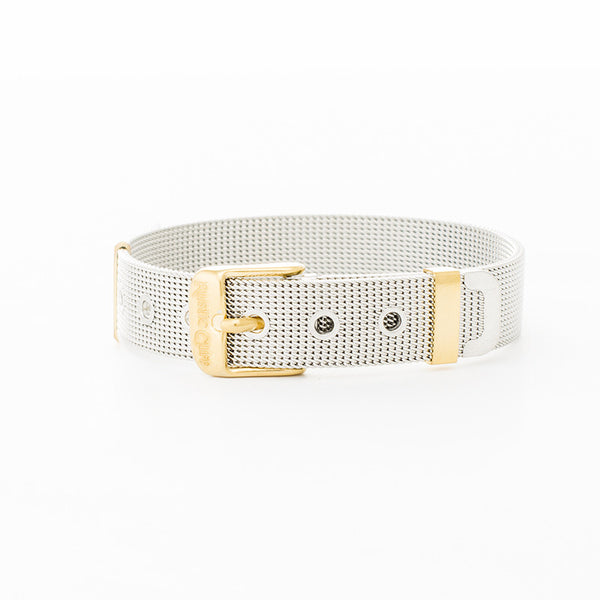RC Wide Mesh Silver with Gold
