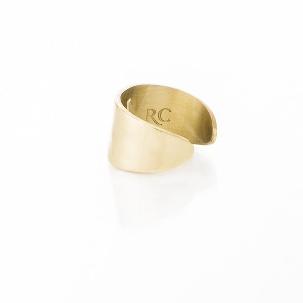 RC Four Leaf Clover Cut Out Ring – Gold