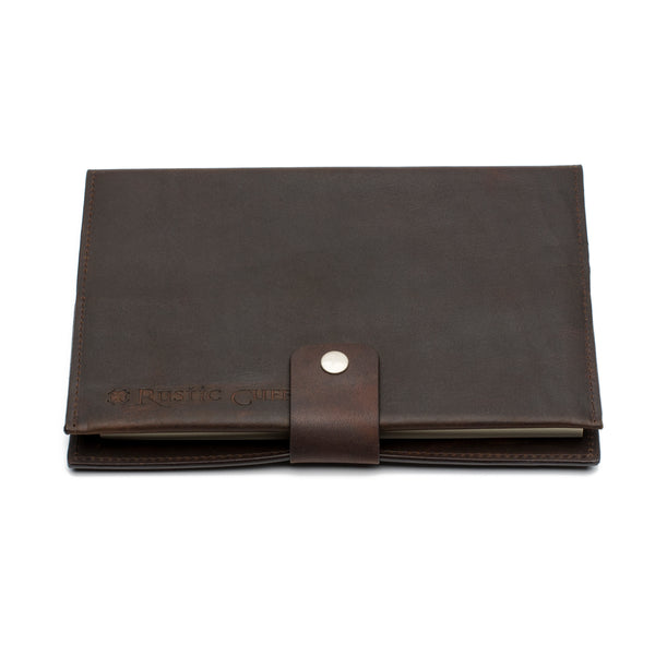 RC Men's Leather Journal Dark Brown - Faith