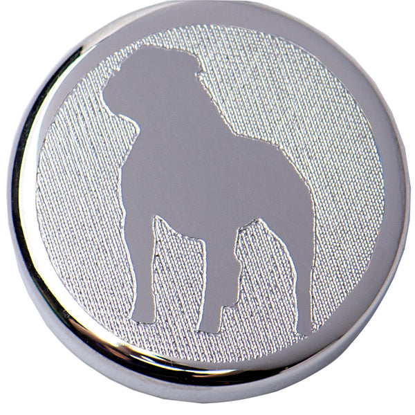 Erin Custom Dog Silver Pendant