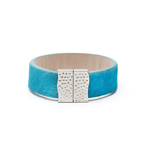 Haley - Turquoise with Silver