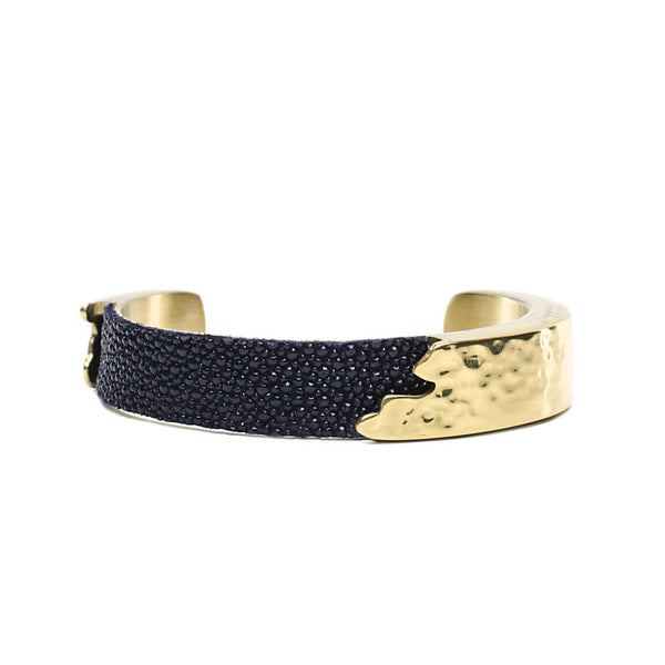 Dallas .5 Navy Ink Stingray with Gold