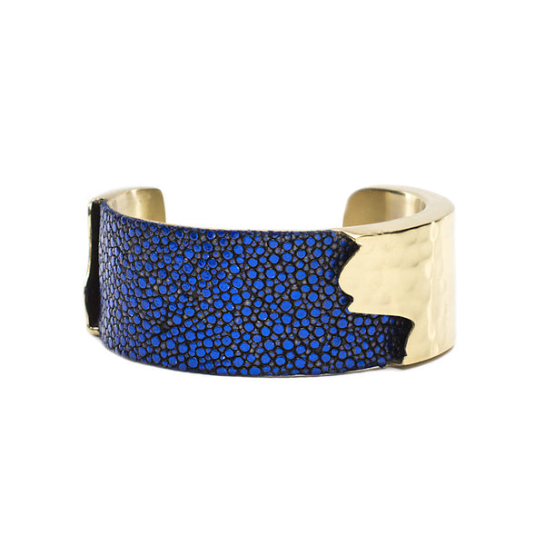 Dallas 1.0 Metallic Cobalt Stingray with Gold