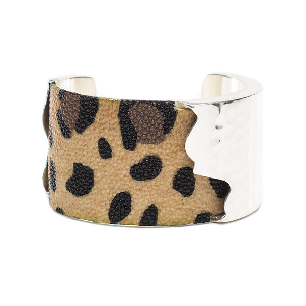 Dallas 1.5 Leopard Stingray with Silver
