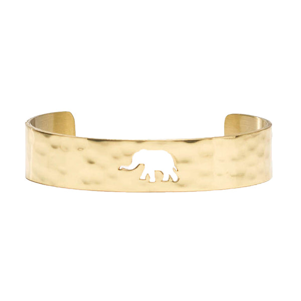 Cut Out .5 Elephant Gold