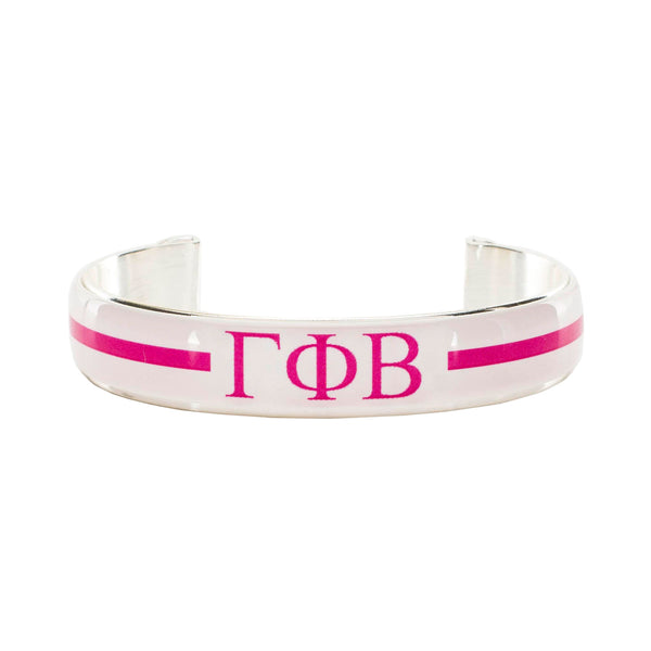 Art Deco .5 - Gamma Phi Beta Greek Letters Varsity Stripe