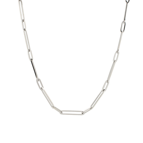 Halle Necklace - Silver