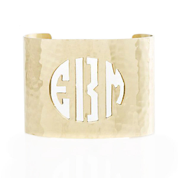 Cut Out 2.0 Monogram Gold