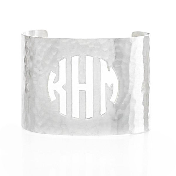 Cut Out 2.0 Monogram Silver