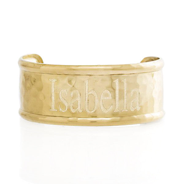 1.0 Rimmed Times Out Engraved Name