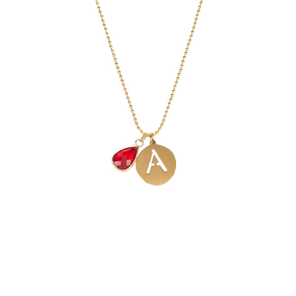 Adele- July Necklace - Gold
