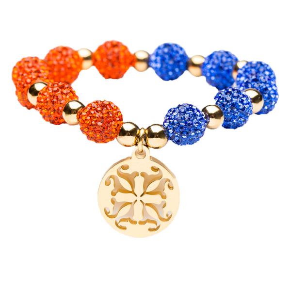 Kaleidoscope Cobalt/Orange Gold