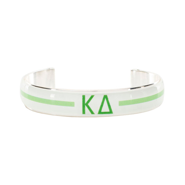 Art Deco .5 - Kappa Delta Greek Letters Varsity Stripe