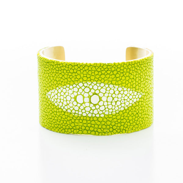 All Knowing Eye (Stingray Eye) Lime Green