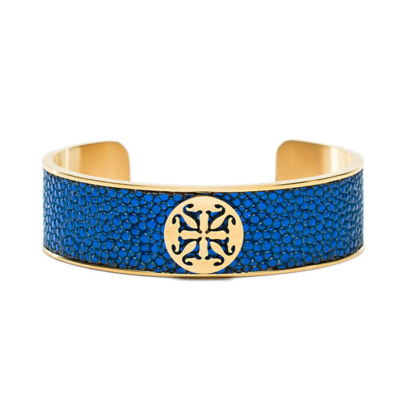 Daniele Stingray Electric Blue - Gold