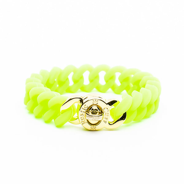 Madison Neon Green with Gold