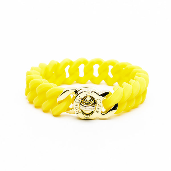 Madison Neon Yellow with Gold