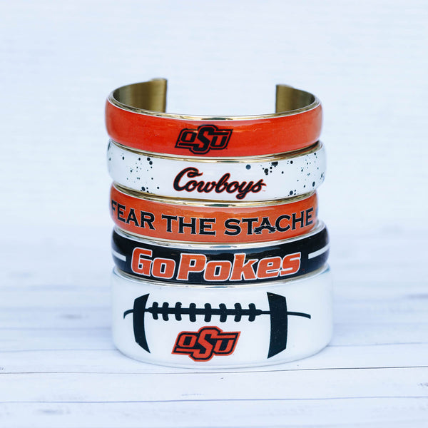 Art Deco .5 Go Pokes Varsity Stripe