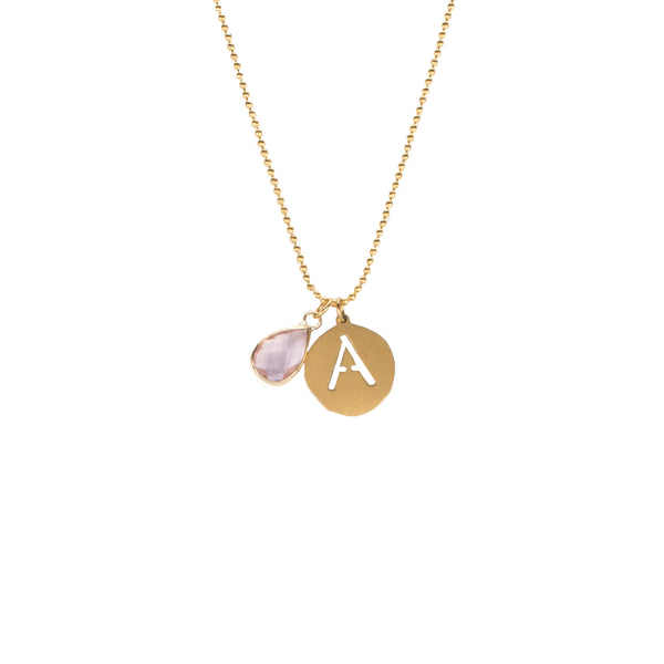 Adele- October Necklace - Gold